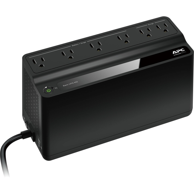 APC Back-UPS 450VA UPS Battery Backup & Surge Protector (BN450M)