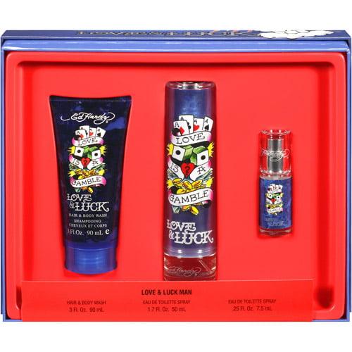Ed Hardy Love & Luck Gift Set for Men