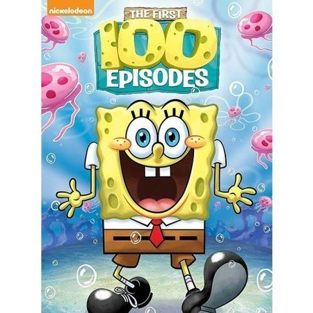 SpongeBob SquarePants: The First 100 Episodes (DVD) - Spongebob Squarepants Halloween Vhs Ebay