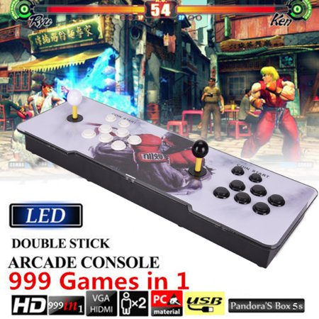 999 in 1 Video Games Arcade Console Machine Double Stick