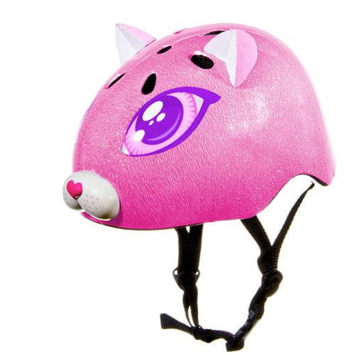 Raskullz Toddler Helmet, Pink Kitty