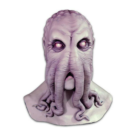 Lovecraft Cthulu Mask HP Grey Octopus Monster of R'Lyeh Latex Horror Costume (Horror Mask Shop)