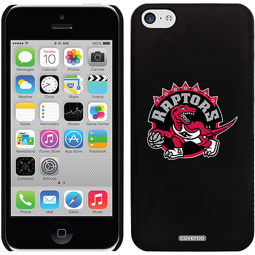 Toronto Raptors Design on iPhone 5c Thinshield Snap-On Case by Coveroo