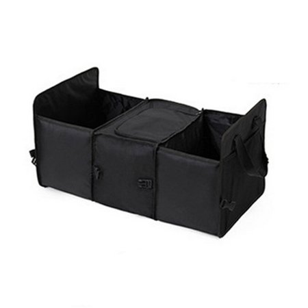 Car Trunk Storage Bag Oxford Cloth Folding Truck Organizer Storage Box with Cooler Bag Travel Tidy Bags For Auto Van SUV](Truck Trunk)