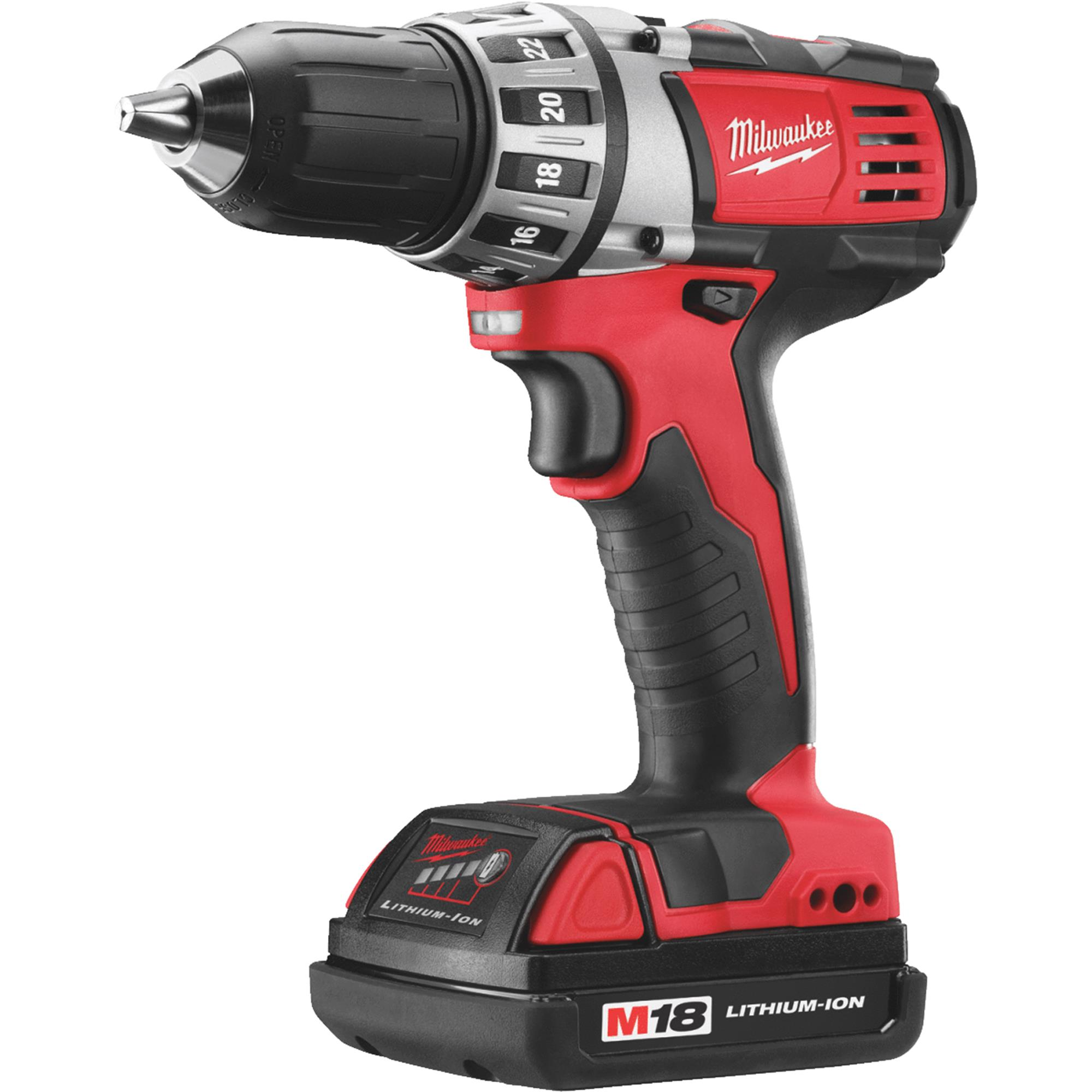 Milwaukee M18 Compact Drill Driver Kit, 1 2 In. by Jensen (Home Improvement)