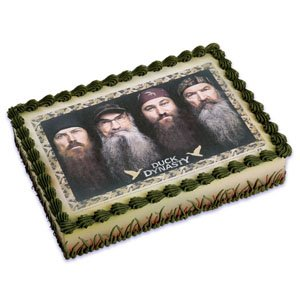 Duck Dynasty Edible Cake Topper by Bakery Crafts
