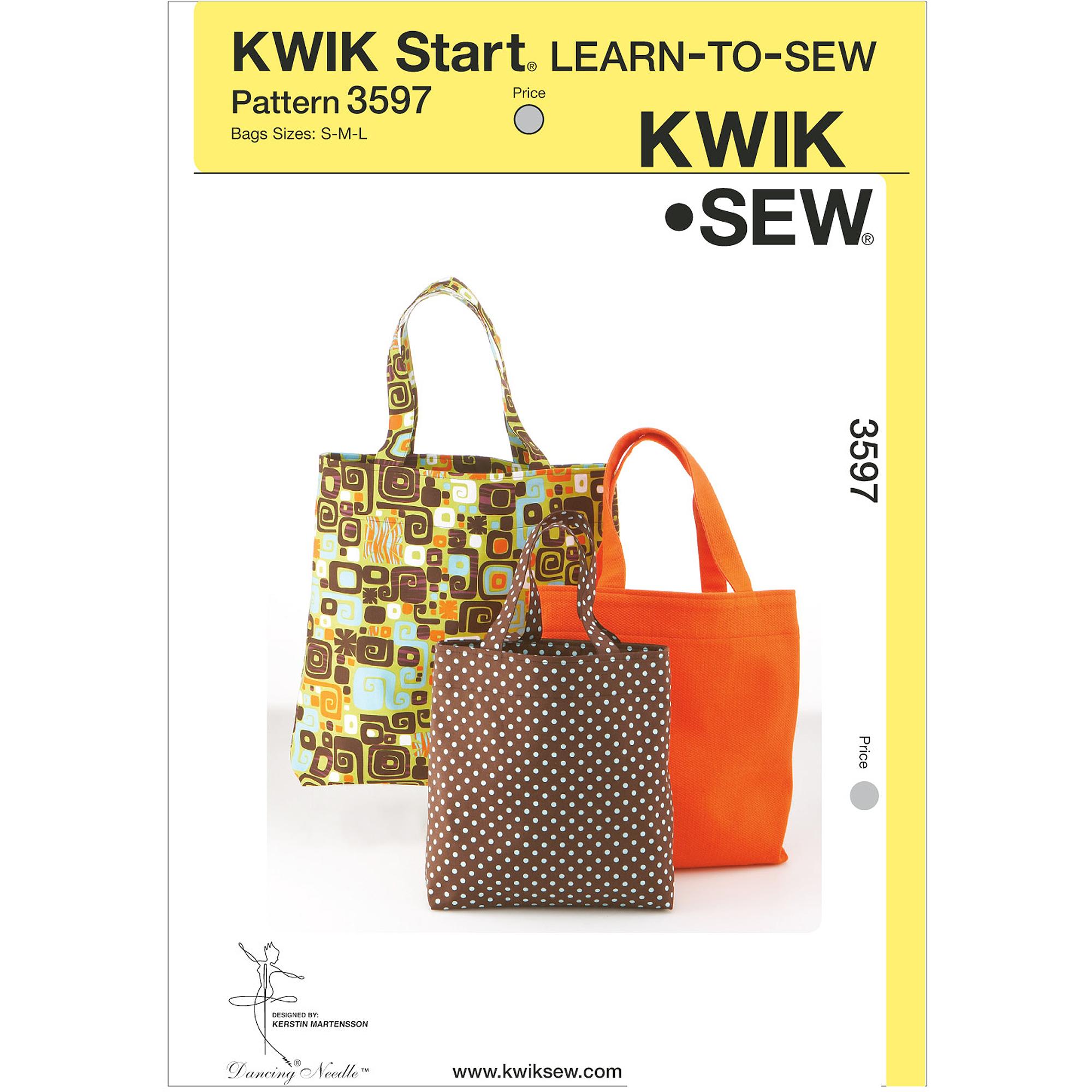 Kwik Sew Bags, (S, M, L)