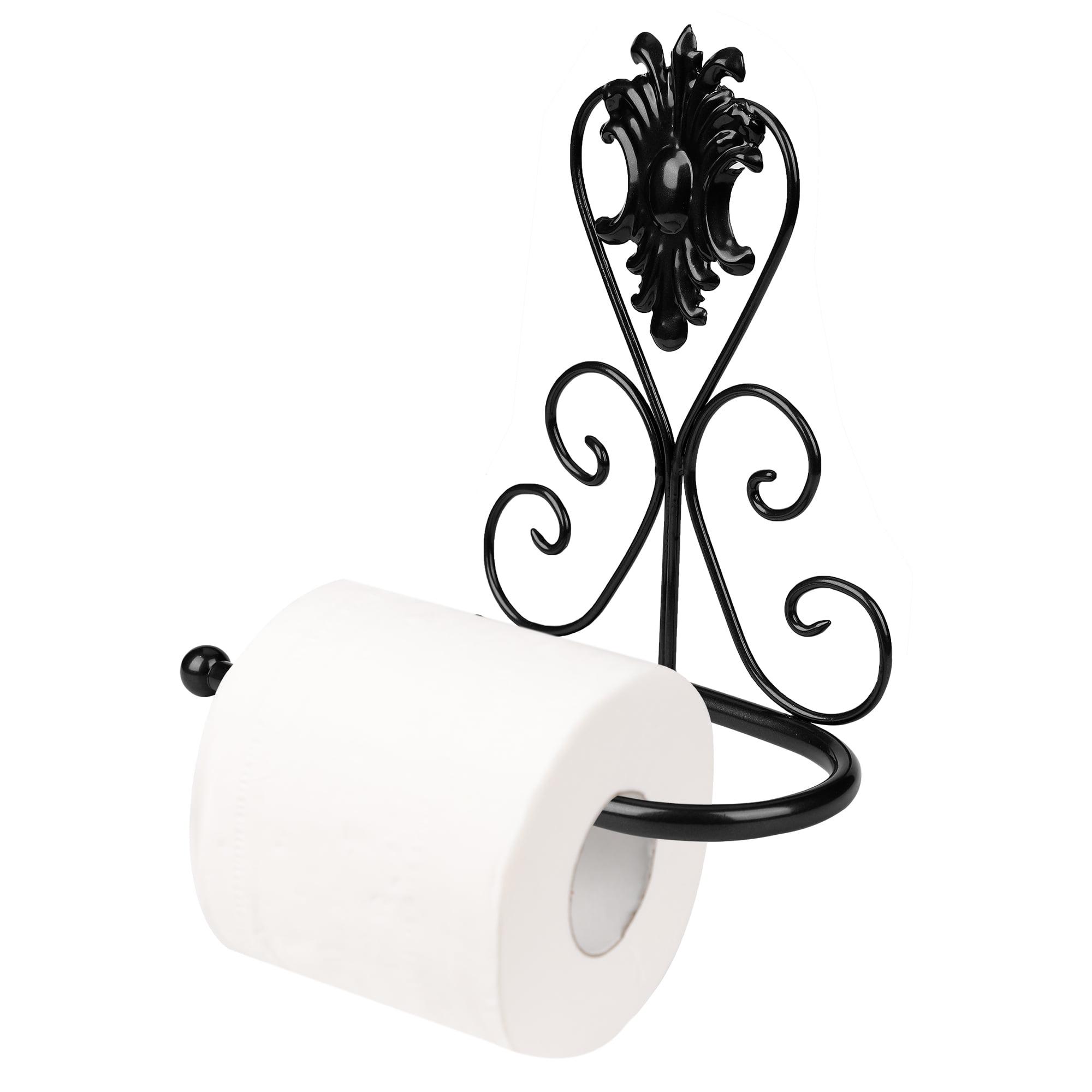 Details about  /Vintage  Iron Toilet Paper Towel Roll Holder Bathroom Wall Mount RacK/_sh Jx