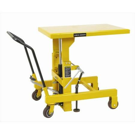 Wesco 273265 Hydraulic Die Lift Table 2000 Lb - 36 in. Raised