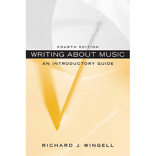 Writing About Music: An Introductory Guide