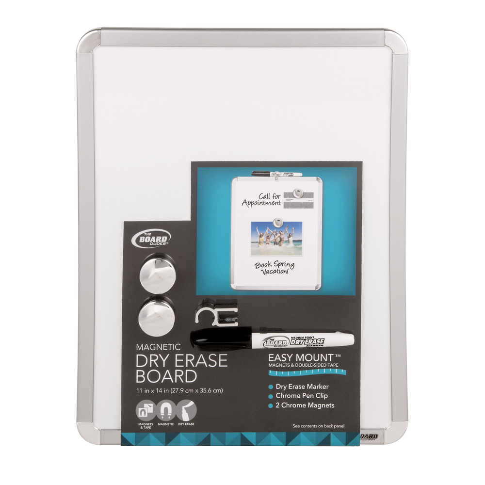 The Board Dudes Magnetic Dry Erase Board, 1.0 CT