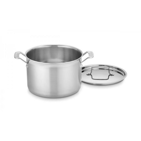 Cuisinart Multiclad Pro Tri-Ply Stainless Steel 8 Qt. Stockpot W/Cover