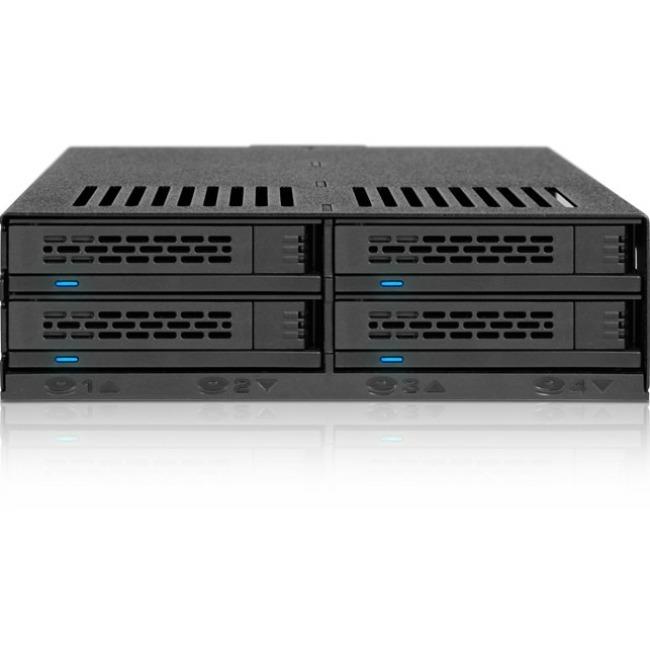 Icy Dock ExpressCage MB324SP-B Drive Enclosure - 4 x Total Bay