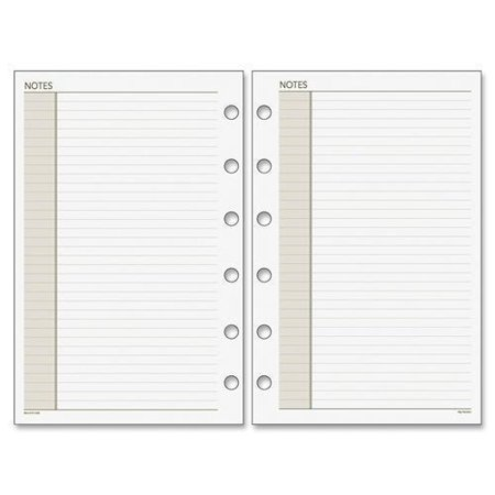 018-200 Day Runner Planner Notes Refill Pages - 8.50