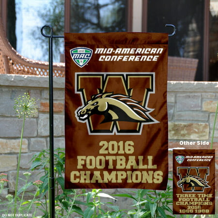 Western Michigan Broncos MAC 2016 Champions 13