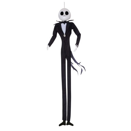The Nightmare Before Christmas - Jack Skellington Hanging Poseable Character - Jack And The Neverland Pirates Party Supplies