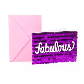 Hallmark Signature Fabulous Birthday Greeting Card