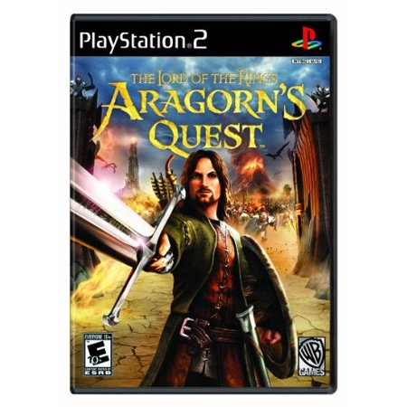 Refurbished Lord Of The Rings: Aragorn's Quest For PlayStation 2 PS2 RPG With Manual and Case Lord Of The Rings Role Playing Game