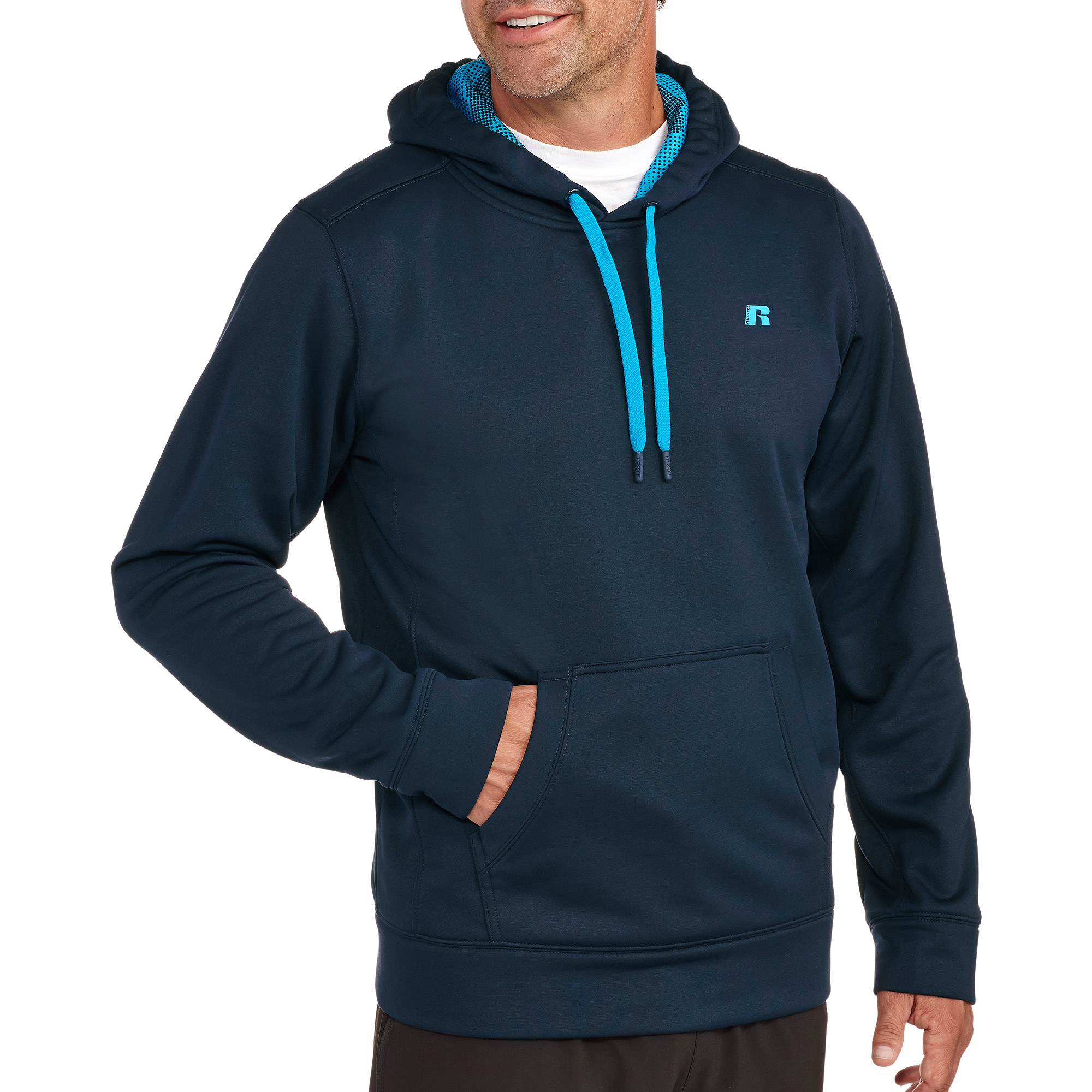 Russell Big Men's Performance Poly Tech Pullover Hood
