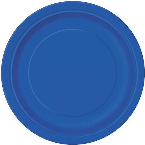 This button opens a dialog that displays additional images for this product with the option to zoom in or out.  sc 1 st  Walmart.com & Paper Plates 9 in Royal Blue 16ct - Walmart.com