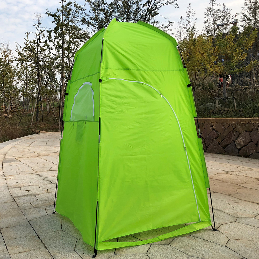 Portable Outdoor Shower Bath Changing Fitting Room Tent