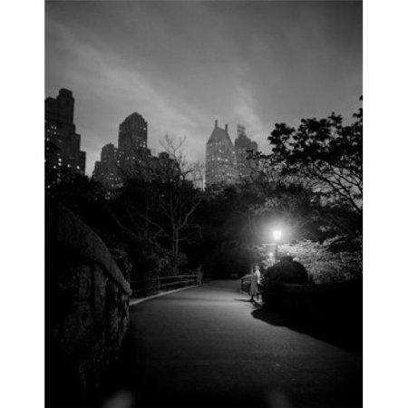 - Posterazzi SAL255422550 USA New York City Manhattan Night Scene in Central Park Poster Print - 18 x 24 in.