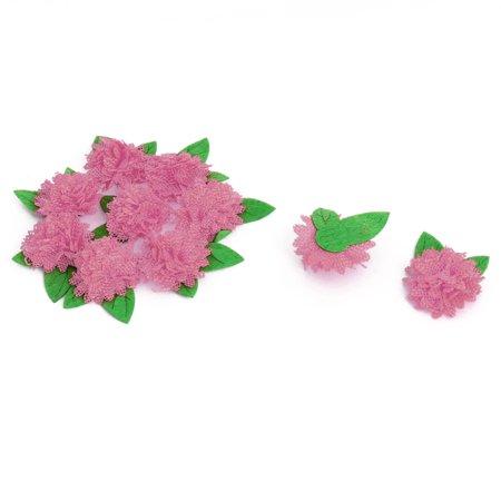 Household Clothing DIY Artificial Wholesale Decorative Flower Heads Pink 10 PCS - Punk Wholesale