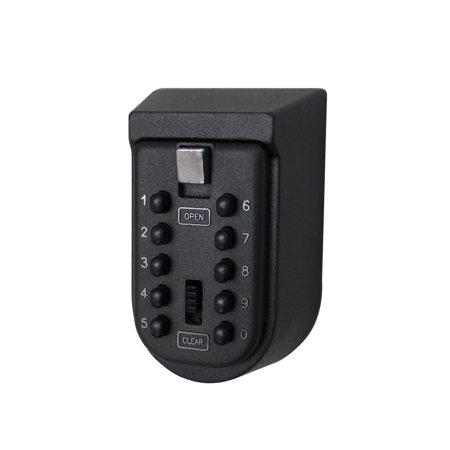 Combination Lock Box Wall Mount (UBesGoo Small Black Key Safe Combination Wall Mount Security Electronic Lock)