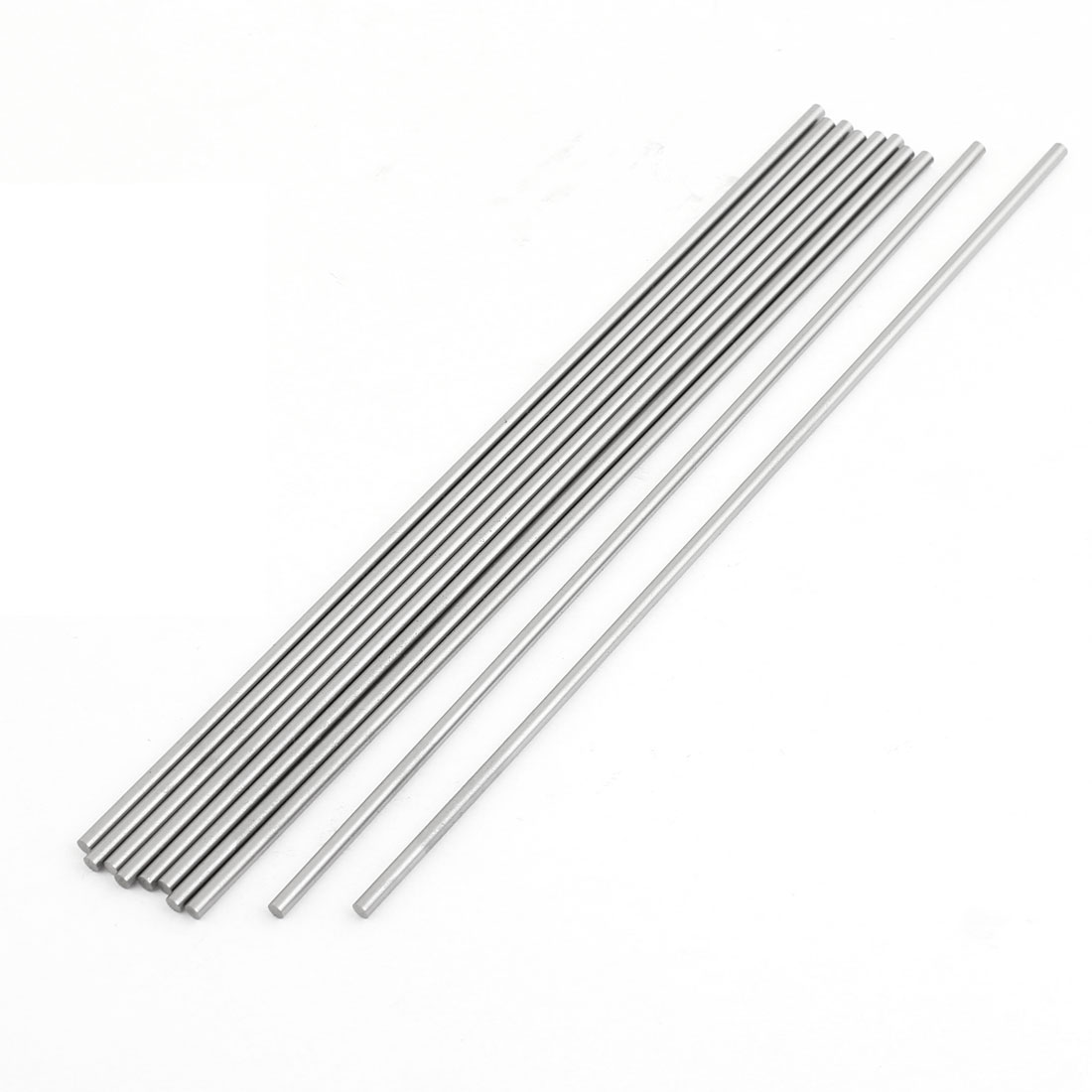 3mm x 200mm HSS Graving Tool Round Turning Lathe Carbide Bars Stick 10PCS by