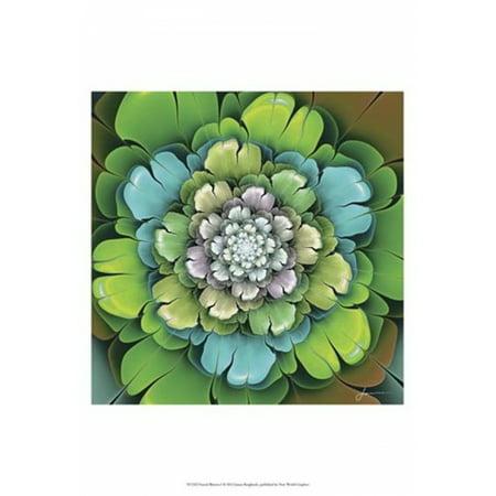 Fractal Blooms I Poster Print by James Burghardt (13 x 19)