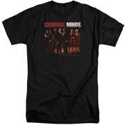 Criminal Minds The Crew Mens Big and Tall Shirt
