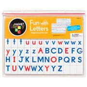 FUN WITH LETTERS MAGNET ACTIVITY SET
