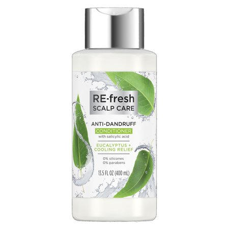 RE-fresh Scalp Care Conditioner Anti-Dandruff Eucalyptus & Cooling Relief Salicylic Acid 13.5