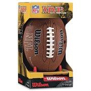 NFL MVP Junior Football With Pump & Kicking Tee by Wilson Sporting Goods