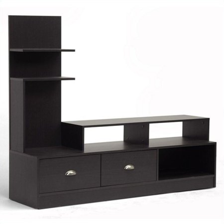 """Wholesale Interiors Armstrong Dark Brown Modern TV Stand for TVs up to 60"""""""