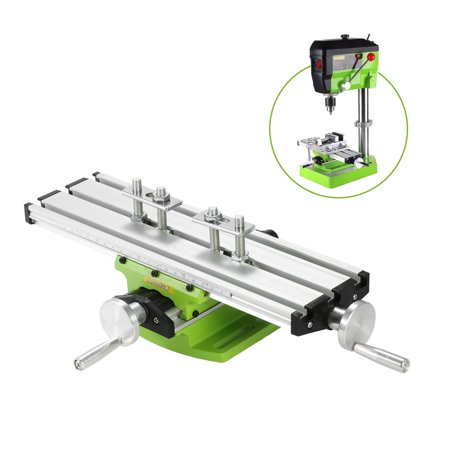Brand New Mini Compound Bench Drilling Slide Table Worktable Milling Working Cross Table Milling Vise Machine for Bench Drill
