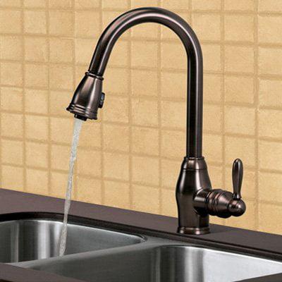 Pegasus Newbury Fp0a5013rbp Single Handle Pull Down Kitchen Faucet