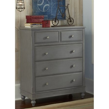 Rosebery Kids 5 Drawer Chest In Stone