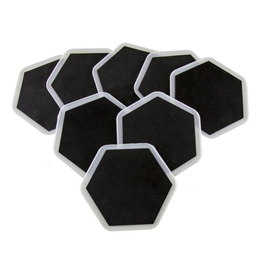 Wideskall® 8 Pieces Furniture Slider Pads Magic Movers Floor Protector for Wood Carpet Floor