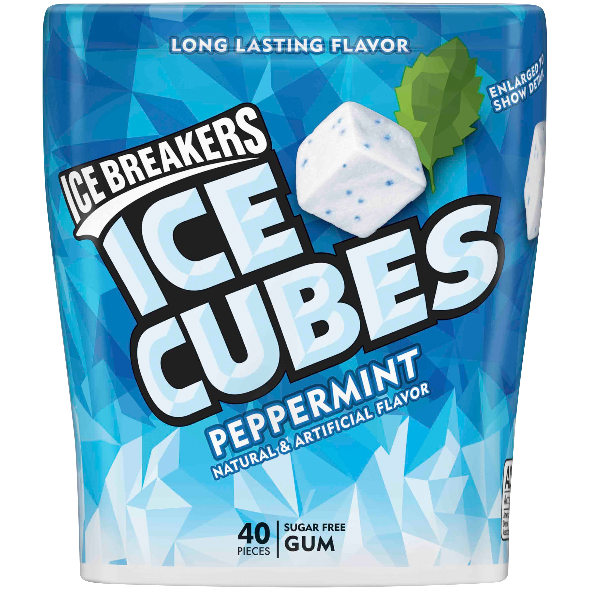 Ice Breakers® Ice Cubes Peppermint Sugar Free Gum 40 ct Pack