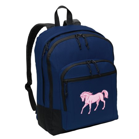 Horse Backpack MEDIUM Horse Theme Backpacks & School - Horse Themed School Supplies