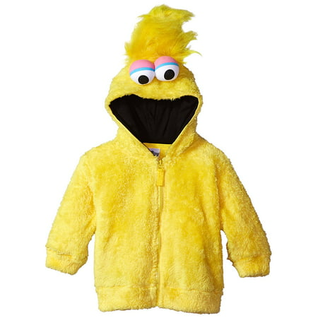 Sesame Street Big Bird Little Boys Costume Hoodie, Yellow (Sesame Street Costumes For Babies)