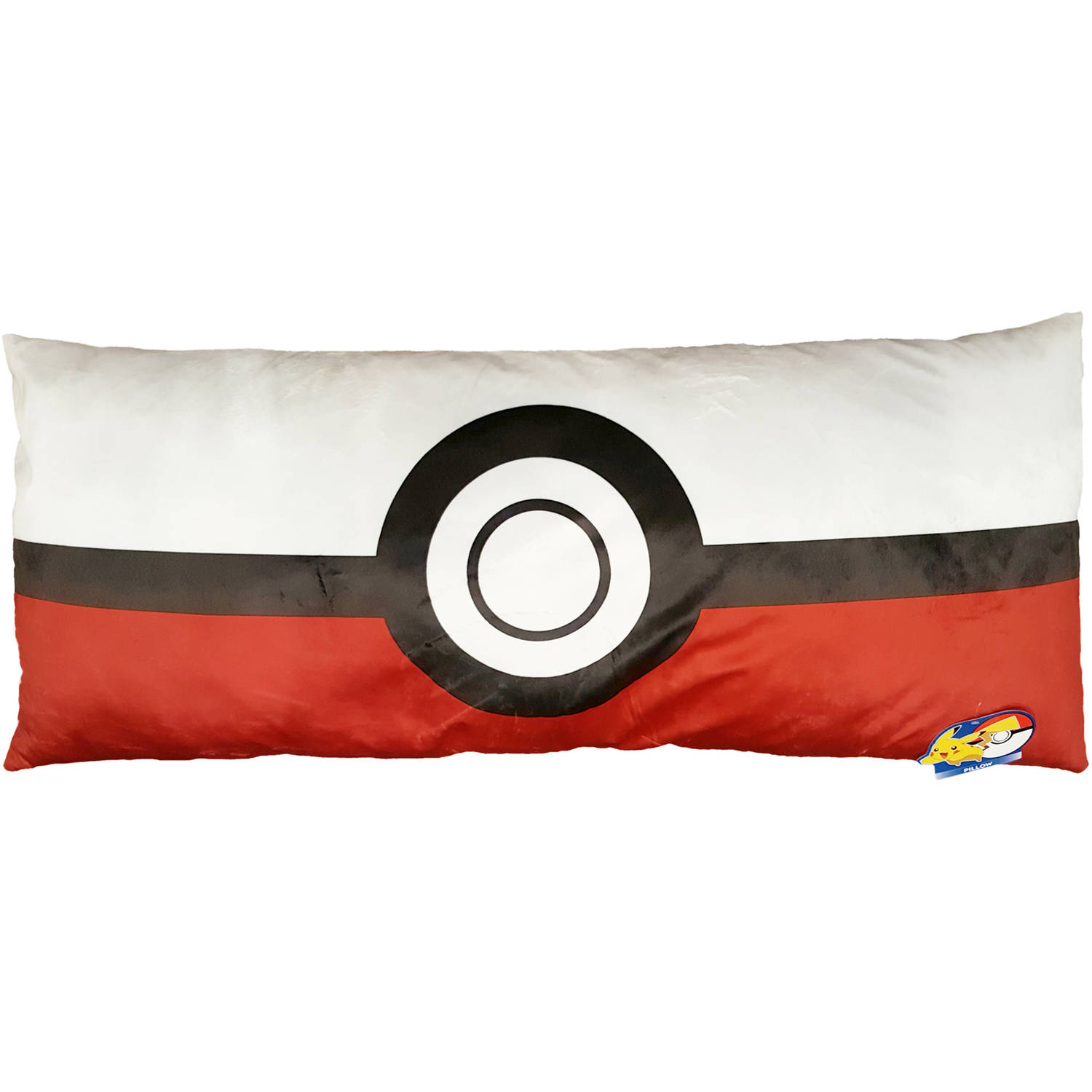 "Pokémon Poke-Ball 24"" x 48"" Body Pillow, 1 Each"