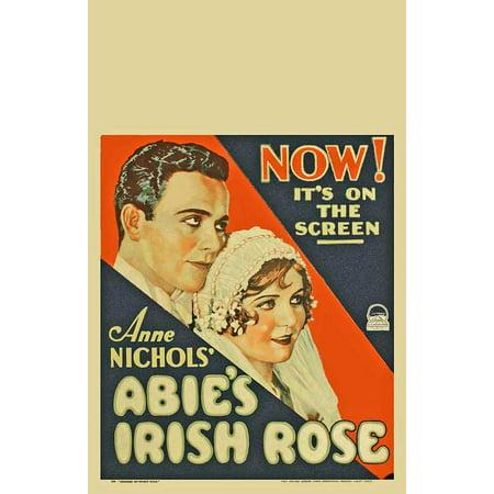 Abie's Irish Rose (1928) Laminated Movie Poster Print 24 x 36