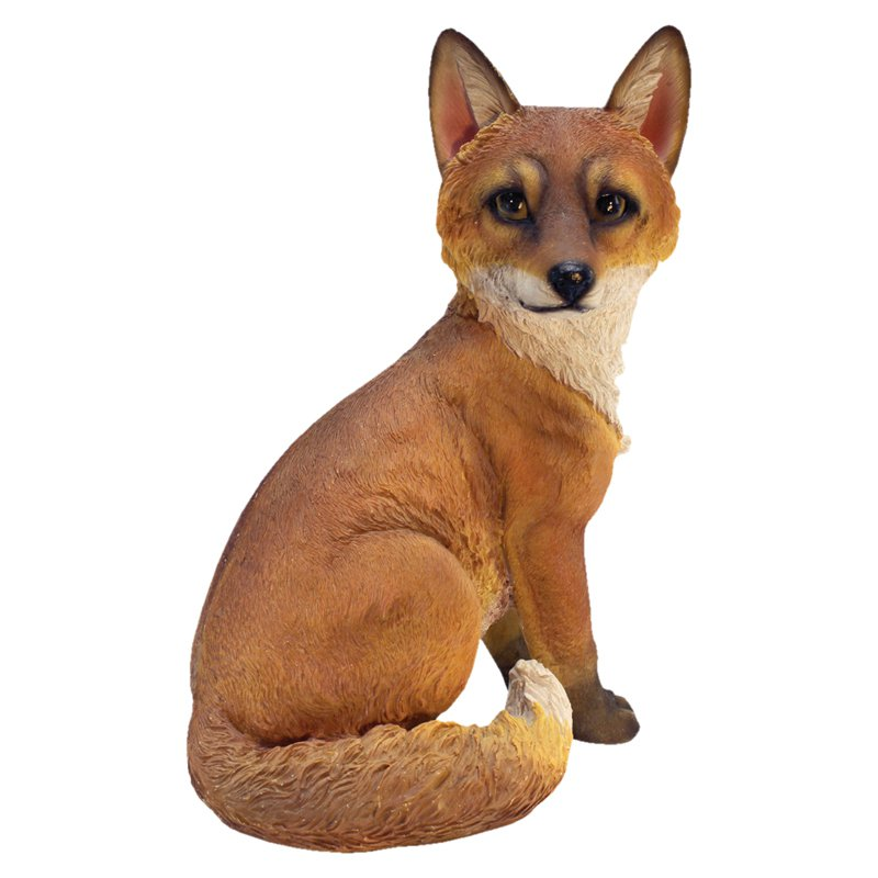 Design Toscano Woodie the Woodland Fox Garden Statue by Design Toscano