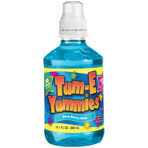 Tum-E Yummies Very Berry Blue Fruit Flavored Drink, 10.1 fl oz