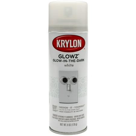 glowz aerosol spray 6oz white. Black Bedroom Furniture Sets. Home Design Ideas