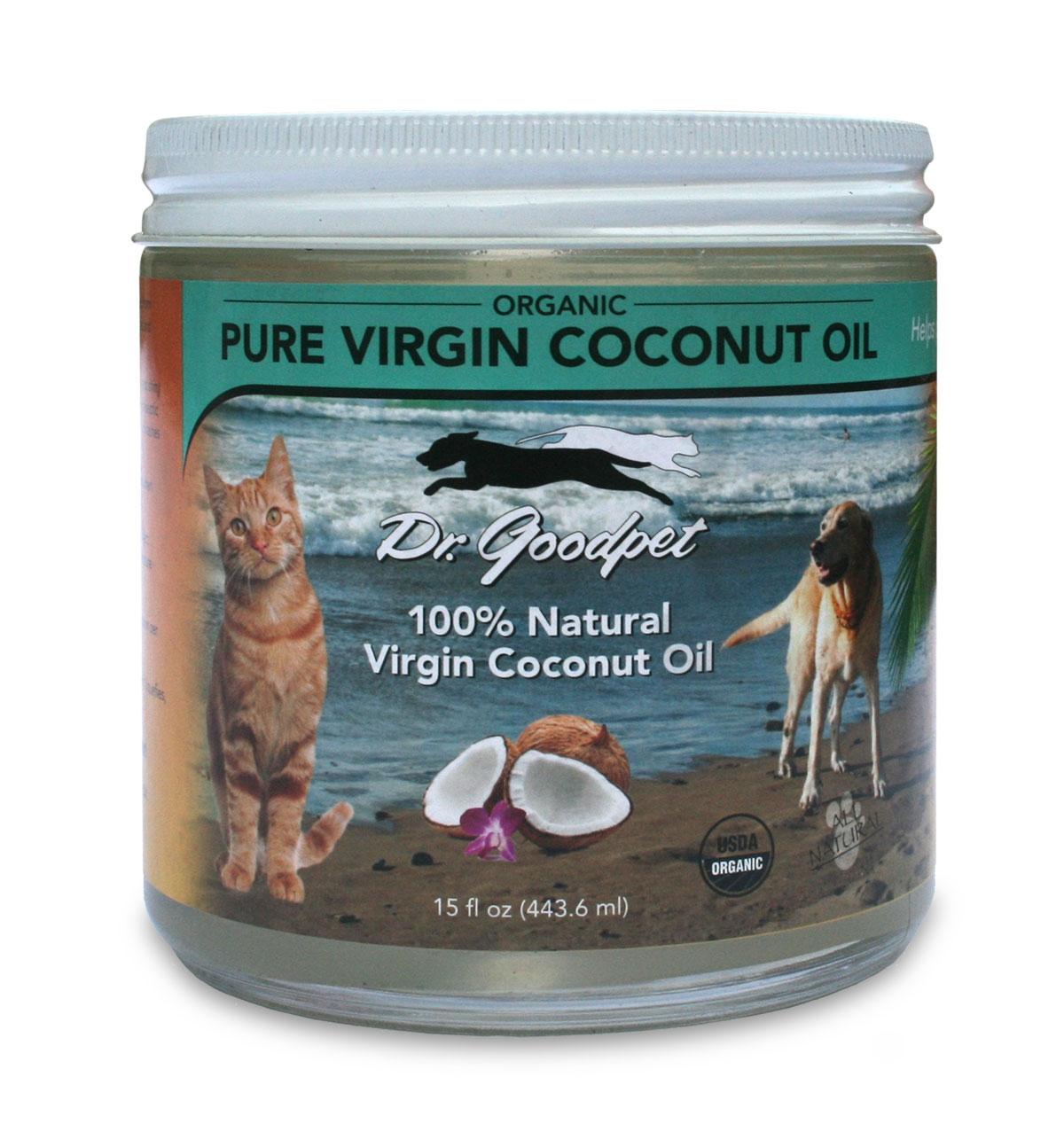 Dr. Goodpet Pure Coconut Oil