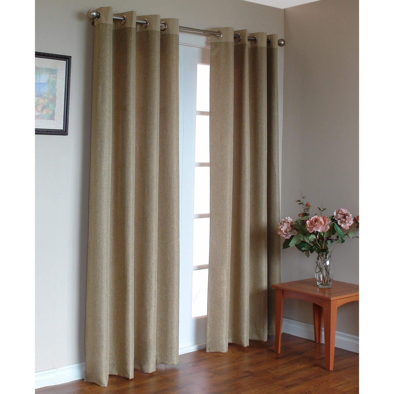 Commonwealth Harrison Grommet Top Curtain Panel
