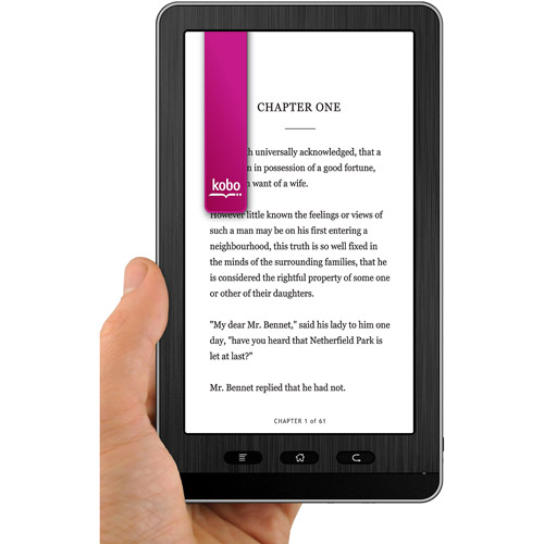 "Ematic eGlide Reader 2 with Wi-Fi 7"" Touchscreen Tablet PC Featuring Android 2.1 Operating System"